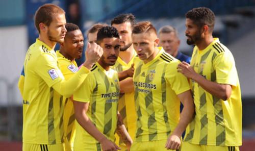 Украинец Сергийчук забил эффектный мяч в Лиге Европы за Вентспилс