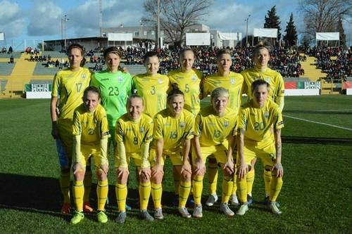 Женская сборная Украины сохранила позиции в рейтинге ФИФА
