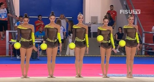 Художественная гимнастика. Украинки завоевали серебро Универсиады