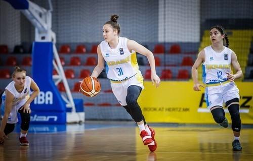 Сборная Украины U-18 победой завершила женский Евробаскет