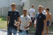 ФОТО. Новый тренер Олимпика Сезар устроил барбекю для своей команды