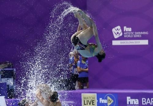 Украина выиграла золото в артистическом плавании на ЧМ