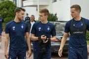 ФОТО. Динамо провело первую тренировку после возвращения из Австрии