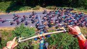 ВИДЕО. Прыжок экстремала над пелотоном Тур де Франс