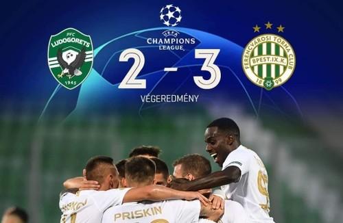 Лудогорец - Ференцварош - 2:3. Видео голов и обзор матча