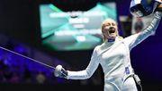 Украинка Кривицкая проиграла в полуфинале ЧМ по фехтованию