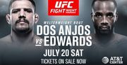 UFC. Рафаэль Дос Аньос – Леон Эдвардс. Прогноз и анонс на бой