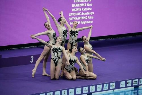 Украинки завоевали пятую медаль в артистическом плавании на ЧМ