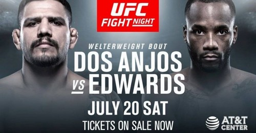 UFC. Рафаель Дос Аньос – Леон Едвардс. Прогноз і анонс на бій