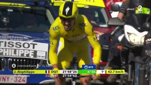 Алафилипп выиграл гонку с раздельного старта на Тур де Франс