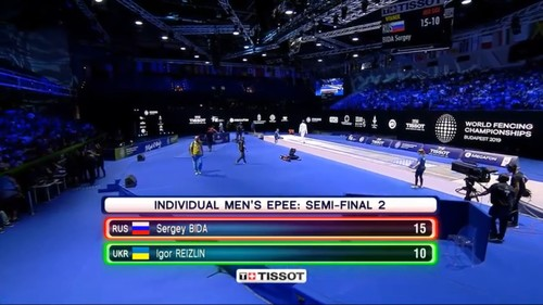 Украинский шпажист Рейзлин проиграл в полуфинале и завоевал бронзу ЧМ