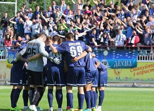 Десна переиграла молдавский клуб в товарищеском матче