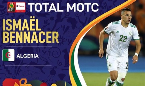 Беннасер – лучший игрок Кубка африканских наций