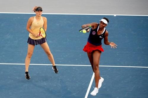 Костюк сыграла в паре с Винус Уильямс на выставочном турнире