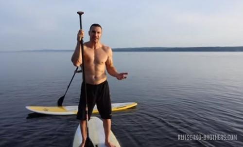 Кличко освоил новый вид спорта