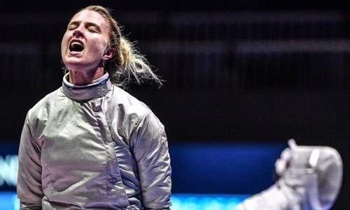 Харлан вышла в полуфинал чемпионата мира по фехтованию