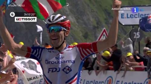 Тибо Пино выиграл 14-й этап Тур де Франс