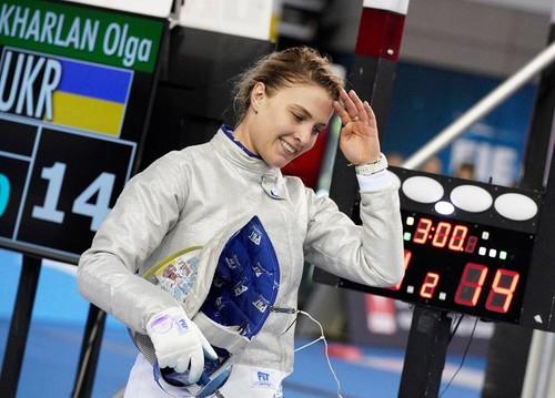 Харлан уверенно вышла в финал чемпионата мира по фехтованию