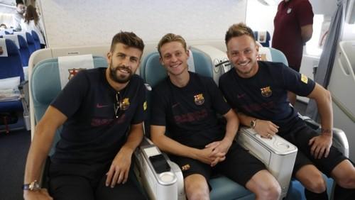 Барселона відбула до Японії без Мессі і Суареса