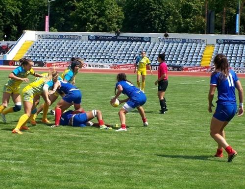 В Харькове собрались лучшие европейские женские сборные по регби-7