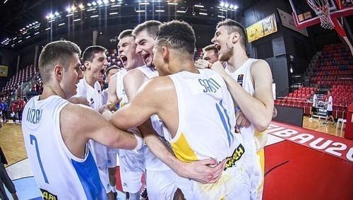 Украина U-20 заняла десятое место на молодежном Евробаскете