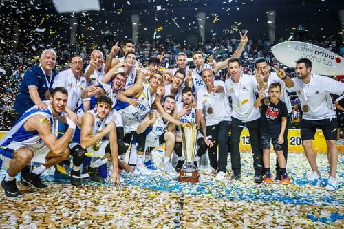 Израиль стал победителем молодежного Евробаскета