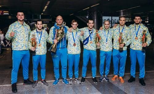 Украинские спортсмены завоевали 6 медалей на ЧМ по боевому самбо