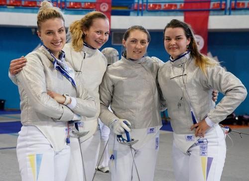 Украинские саблистки проиграли команде Франции в 1/4 финала ЧМ