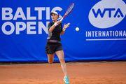 Юрмала. Калинина не сумела выйти в дебютный четвертьфинал турнира WTA