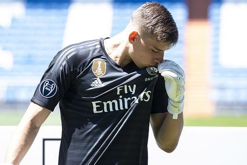 ВИДЕО. Сейвы Лунина на тренировках Реала