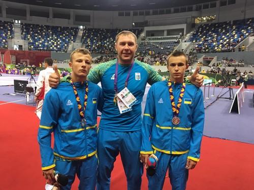 Сборная Украины взяла семь медалей на олимпийском фестивале в Баку