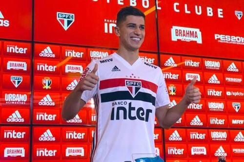 ВИДЕО. Экс-динамовец Буэно забил первый гол за Сан-Паулу