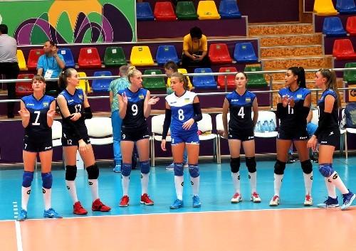 На Европейском фестивале украинские волейболистки победили Болгарию