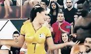 ВИДЕО. Безумные обещания девушек футболистам