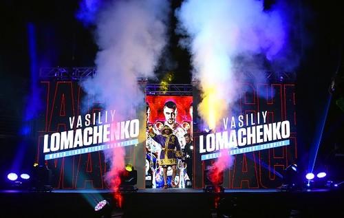 Поддержи Ломаченко в Лондоне!