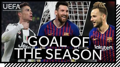 ВИДЕО. Топ-10 лучших голов минувшего сезона УЕФА