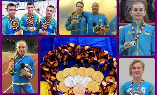 Олимпийский фестиваль в Баку. Украина добыла 25 медалей