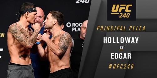 UFC 240. Макс Холлоуэй – Фрэнки Эдгар. Видео боя