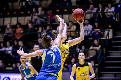 Киевское Динамо выиграло женскую Суперлигу по баскетболу