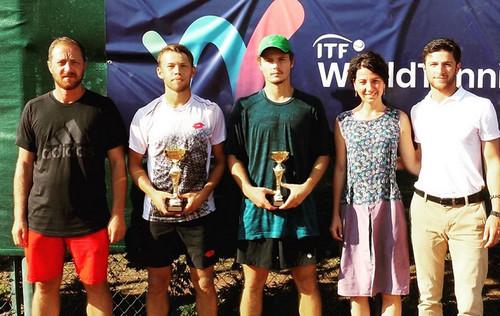 Маштаков впервые выиграл профессиональный титул ITF