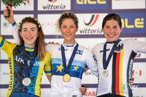 Беломоина стала вице-чемпионкой Европы по маунтинбайку