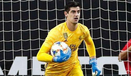 Реал потерял Куртуа на 2-3 недели