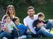 ФОТО. Супруга Месси показала семейное фото с отдыха