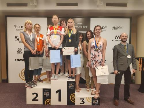 Сборная Украины завоевала две награды чемпионата мира по шашкам-100