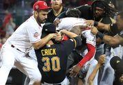 ВИДЕО. Массовая драка во время бейсбольного матча MLB