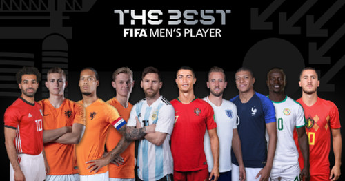 Роналду, Месси, Мбаппе и еще 7 претендентов на звание игрока года ФИФА