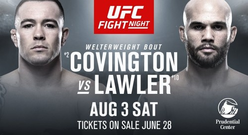 Где смотреть онлайн UFC on ESPN 5: Колби Ковингтон – Робби Лоулер