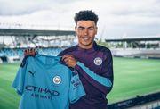 Манчестер Сити купил 17-летнего форварда Вест Бромвича