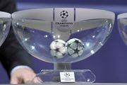 Жеребьевка раунда плей-офф Лиги чемпионов. LIVE