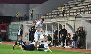 Заря вырвала ничью в матче против Днепра-1